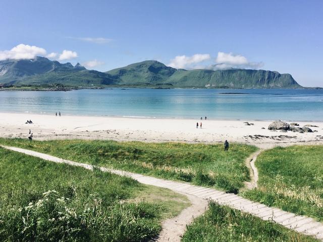 lofoten beach norway norveska lofoti