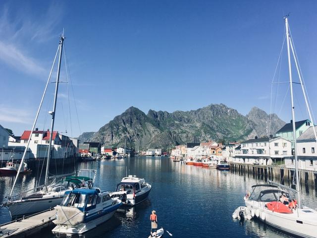 Henningsvaer norway lofoten norveska lofoti
