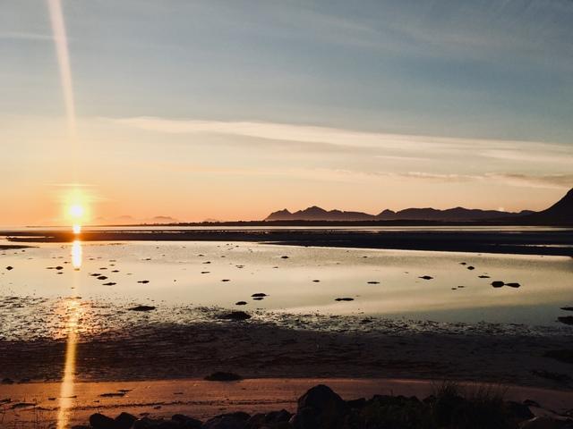 midnight sun norway polnocno sonce norveska