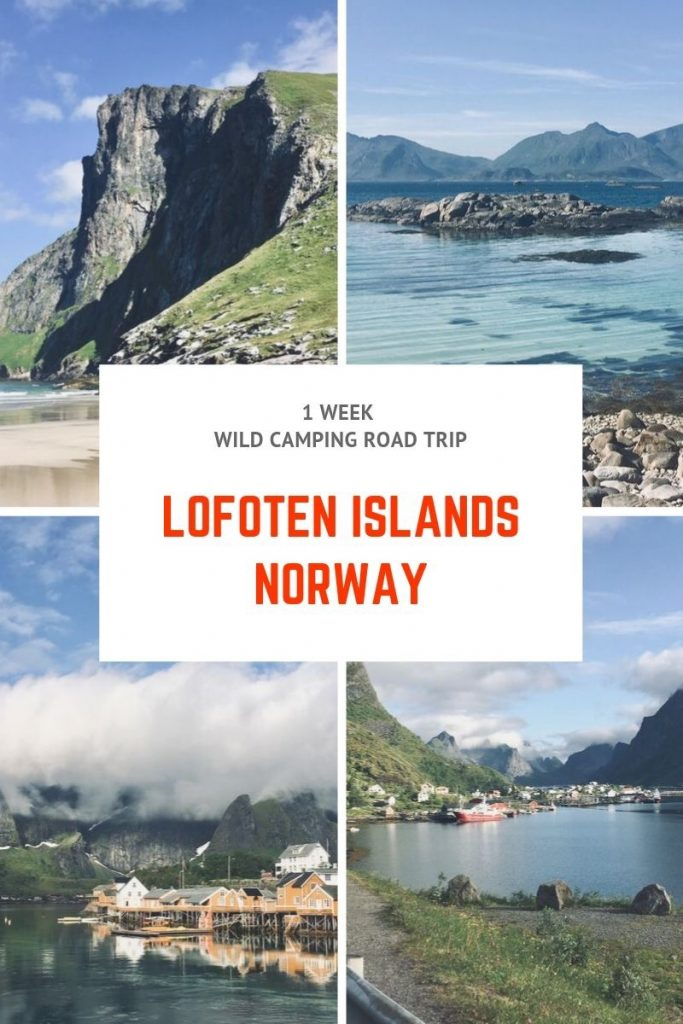Lofoten islands norway what to see and do road trip wild camping