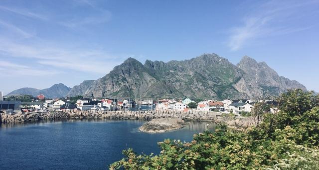 Henningsvaer lofoten norway norveska lofoti