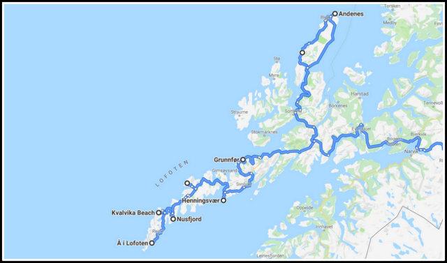 Lofoten road trip Norway norveska lofoti potovanje