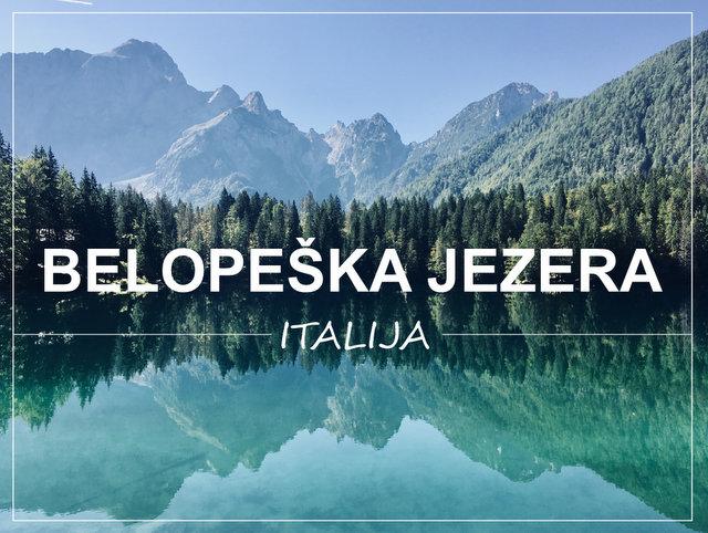 Belopeska jezera Italija enodnevni izlet