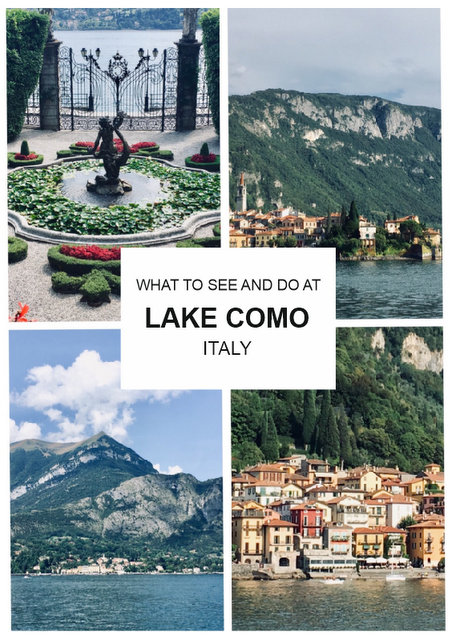 what to see and do in Lake Como