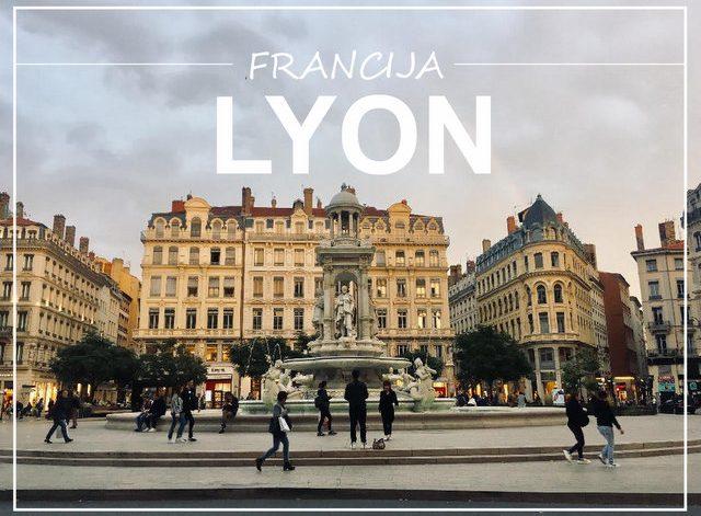Francija Lyon v enem dnevu potopis