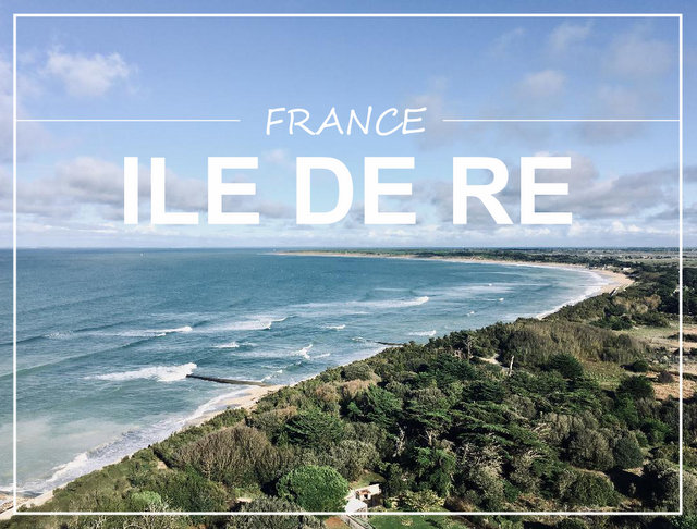 Ile de Re France what to see and do
