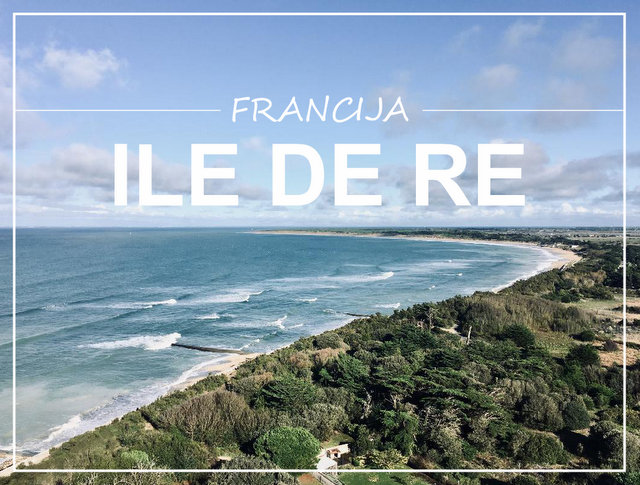 Ile de Re Francija potopis