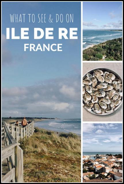 what to see and do on Ile de re France