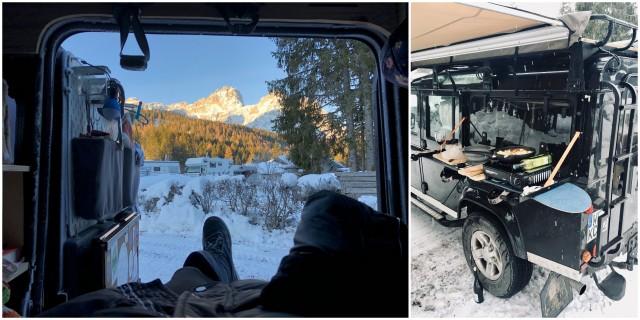 Caravan Park Sexten Sesto Dolomiti Italy Italija