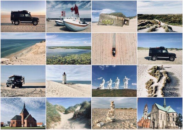 Danska 2019 potopis potovanje Denmark road trip
