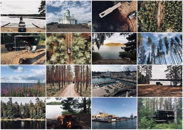 Finska potopis potovanje Finland road trip