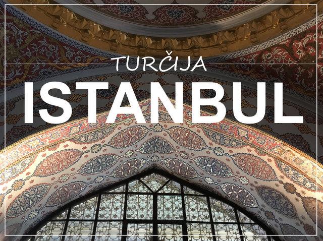 Istanbul Turcija kaj videti in poceti