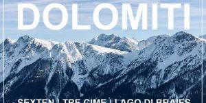 DOLOMITI, Italija | zimsko kampiranje / smučarski road trip v Sexten (Tre Cime), jezero Braies, Kronplatz, Bruneck & Brixen