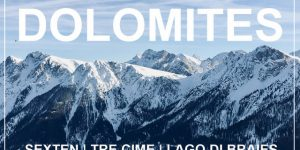 DOLOMITES, Italy | winter camping / skiing road trip