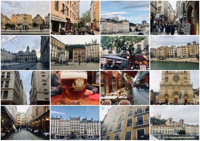 Lyon potopis potovanje