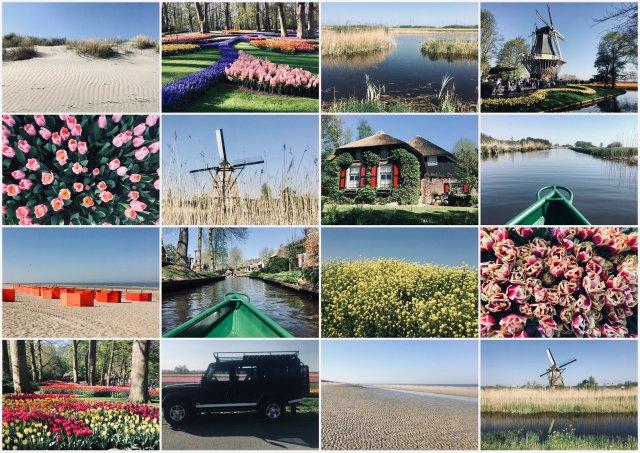 Netherlands Nizozemska potopis potovanje road trip
