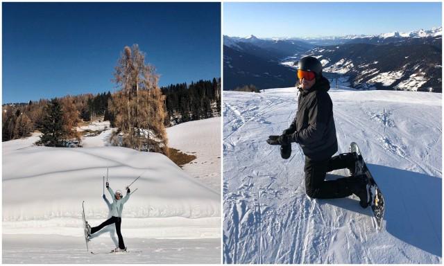 skiing Sesto Sexten Dolomiti Dolomites Italy Italija