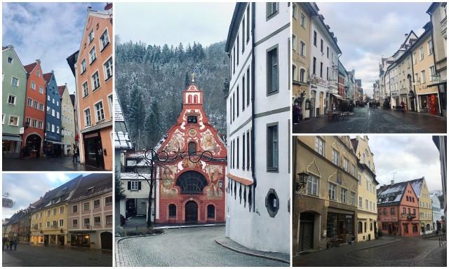 Füssen German romantic road nemška romantična cesta