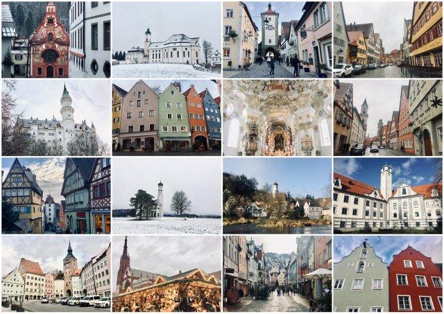 romantische strasse Germany Nemcija Romanticna cesta potopis potovanje