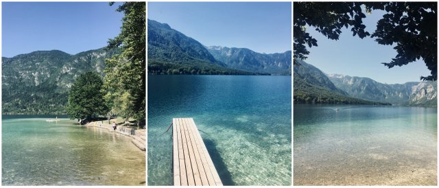 Bohinj lake Slovenia 1 week itinerary