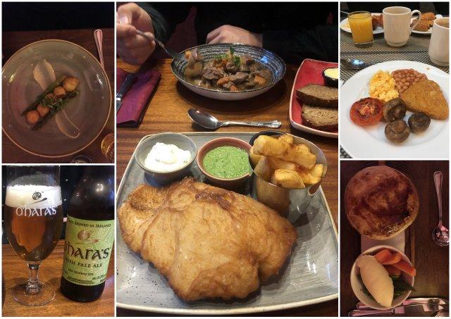 Dublin Ireland Irska food kulinarika