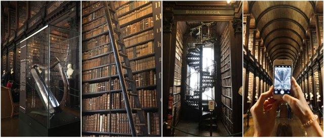 Dublin Irska Ireland Trinity college library knjiznjica