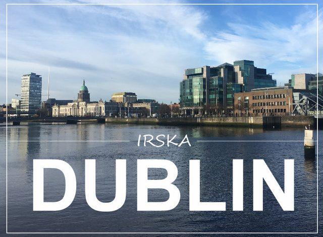 Dublin Irska kaj videti in poceti