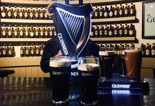 Guiness Storehouse Dublin Ireland Irska