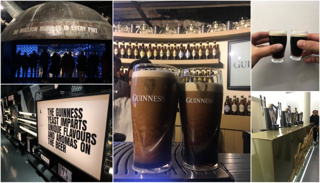 Guinness storehouse Dublin Ireland Irska