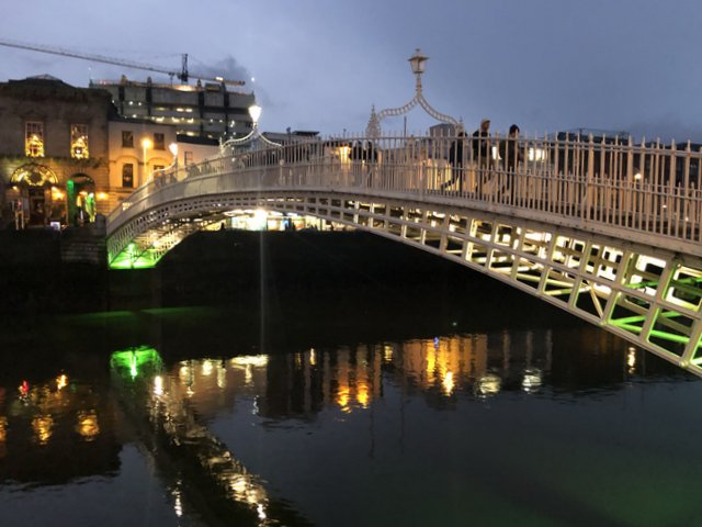 ha penny bridge Dublin Irska Ireland