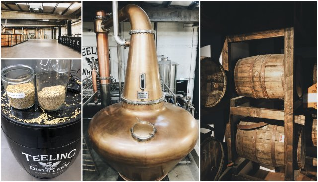 Teeling whiskey distillery Dublin Ireland Irska