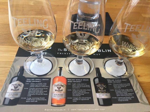 Teeling whiskey tasting degustacija viskija Dublin Irska Ireland