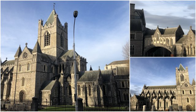 dUBLIN iRELAND CHURCHES CERKVE iRSKA