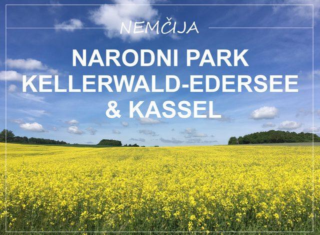 Narodni park Kellerwald Edersee Kassel Nemčija