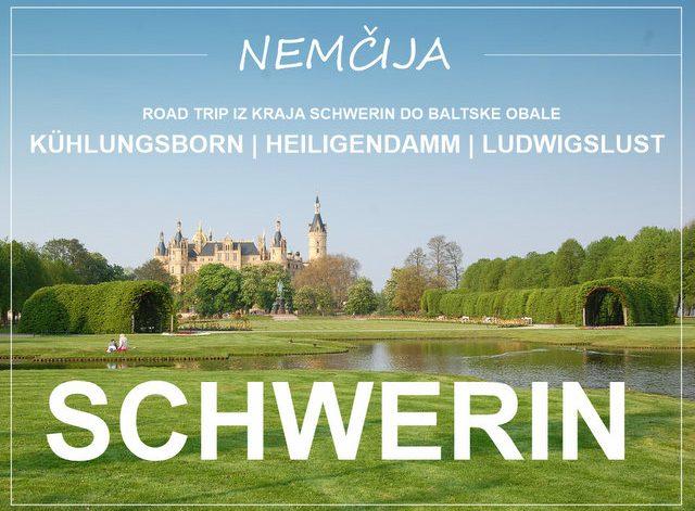 Schwerin in baltska obala Nemčije road trip