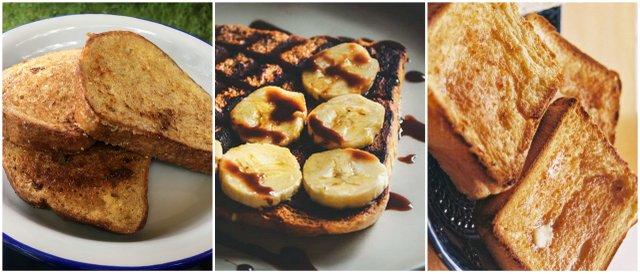 French toast pain perdue camping cooking kaj kuhati na kampiranju
