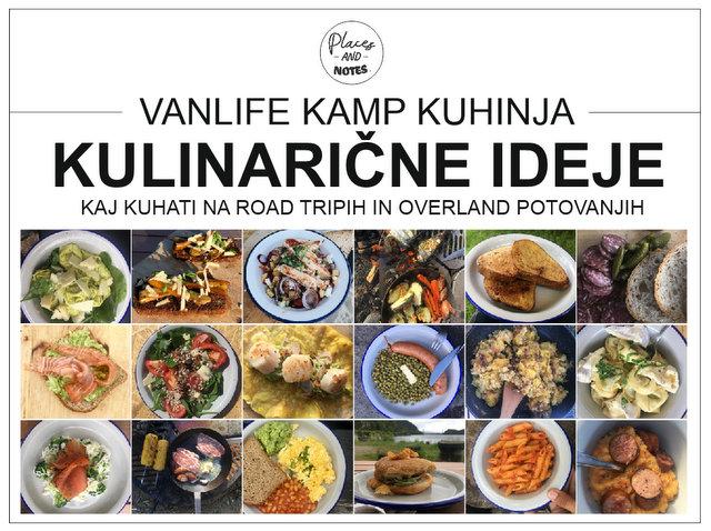 Vanlife kamp kuhinja kulinarične ideje