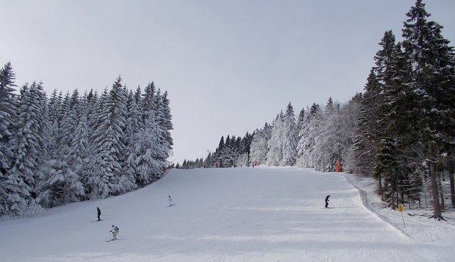 großer arber bodenmais skiing bavarian forest national park
