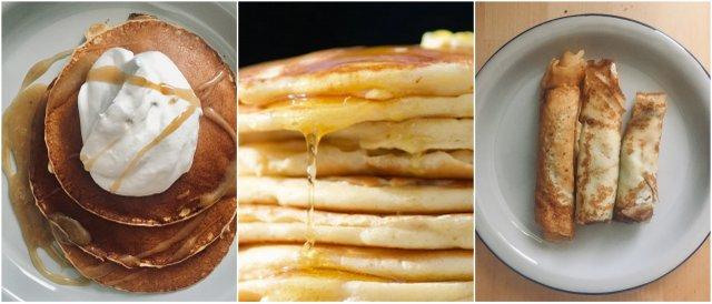 pancakes palačinke kam kuhinja kaj kuhati na kampiranju