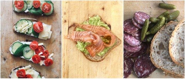 Vanlife kitchen sandwiches kamp kuhinja sendvici