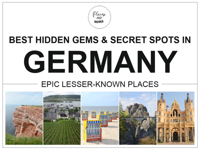 Best hidden gems and secret spots in Germany