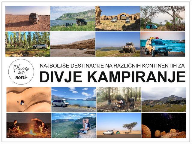 Najboljše destinacije za divje kampiranje po svetu