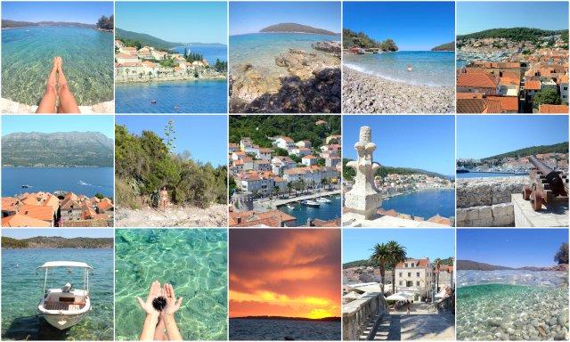 Korcula Dalmatian islands Croatia Dalmacija otoki Hrvaska