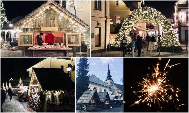 Kranjska Gora Christmas market Slovenia božična tržnica