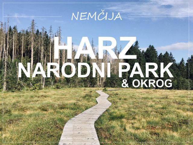 Narodni park Harz kaj videti in početi Nemčija