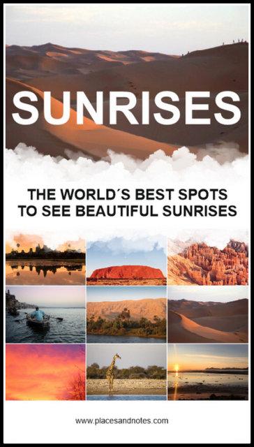 World´s best spots to see beautiful sunrises