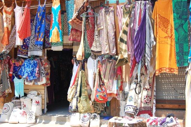 tržnica v Dahabu, Sinajski polotok, Egipt