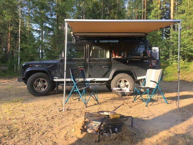 Finland wild camping