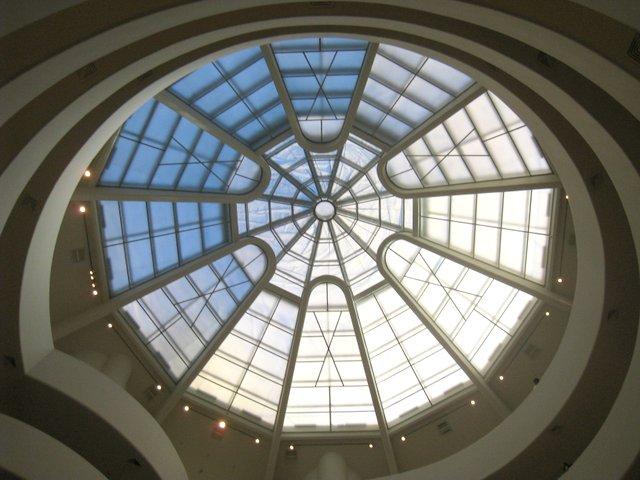 Guggenheim muzej v NYC - ogromno muzejev ima ob določenih dnevih in urah prost vstop