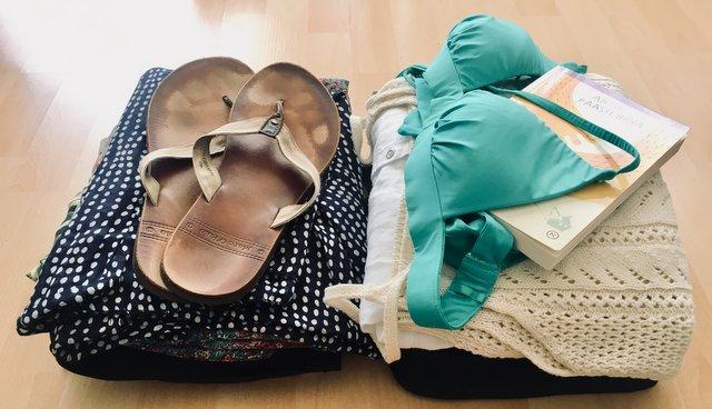ročna prtljaga za 3-tedensko potovanje po seveu brazilije